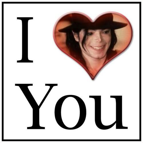 Michael Jackson wallpaper titled ♥ I LOVE YOU ♥