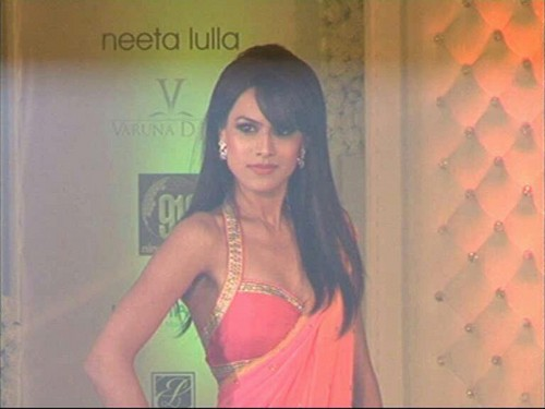 @ ramp of netta lulla fashion প্রদর্শনী