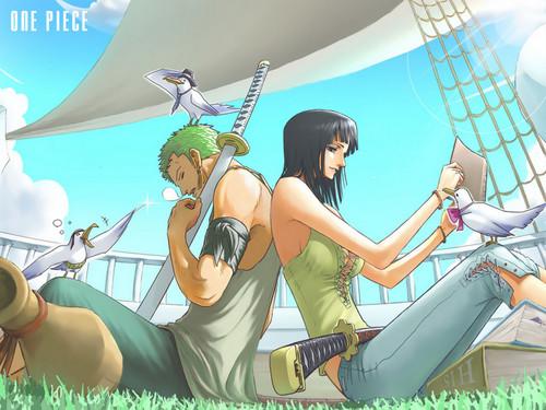 *zoro & Robin*