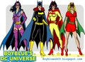 1970s Gotham Girls: Huntress, Batgirl, Batwoman & Bat-Girl