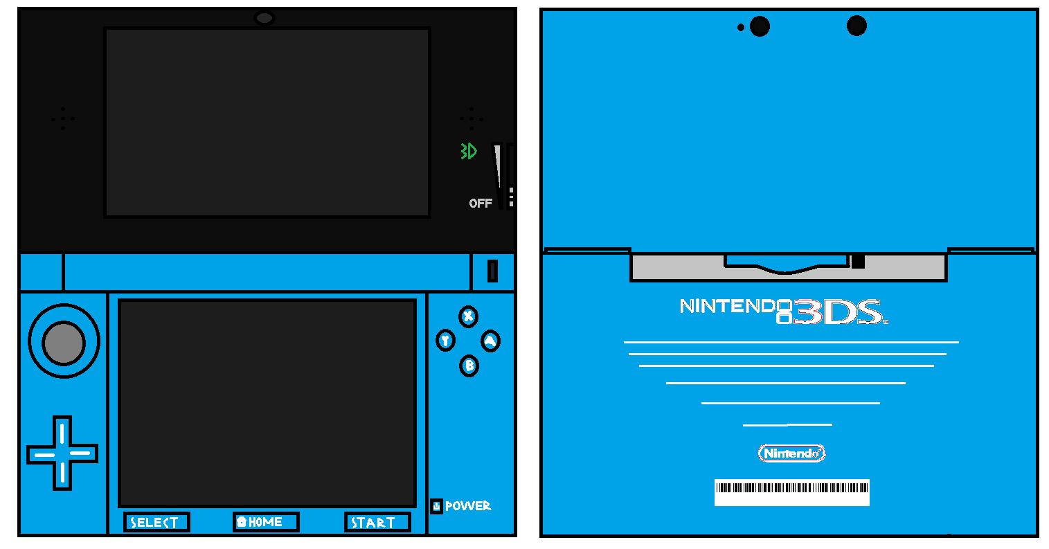 3DS Blue