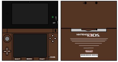 3DS Brown