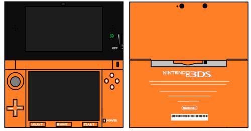 3DS 橙子, 橙色