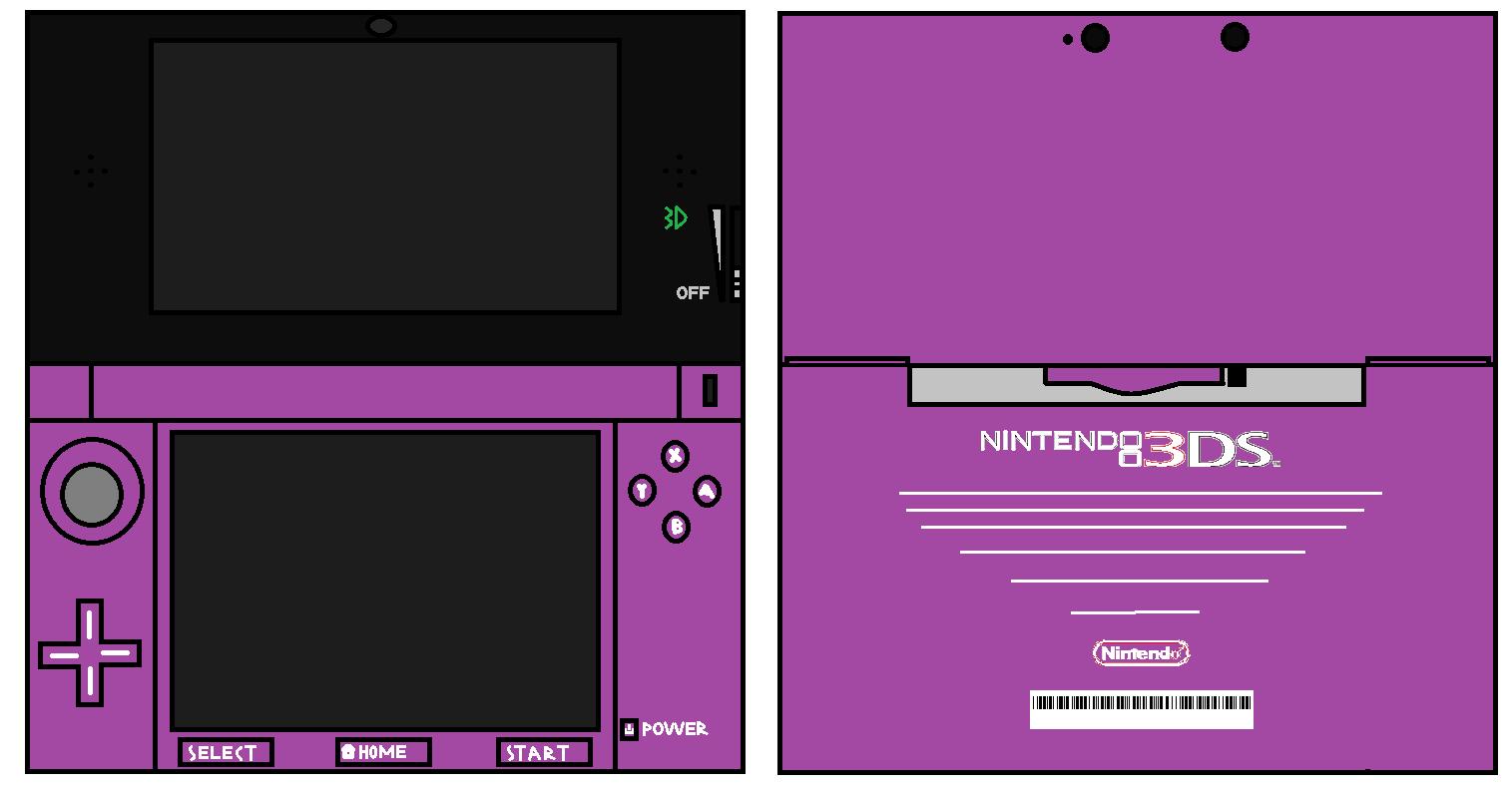 3DS Purple