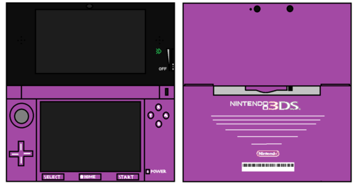 3DS Purple