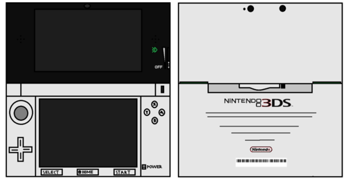 3DS White