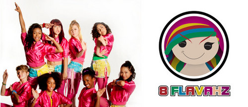 America's Best Dance Crew wallpaper probably with a sign called 8 flavahz