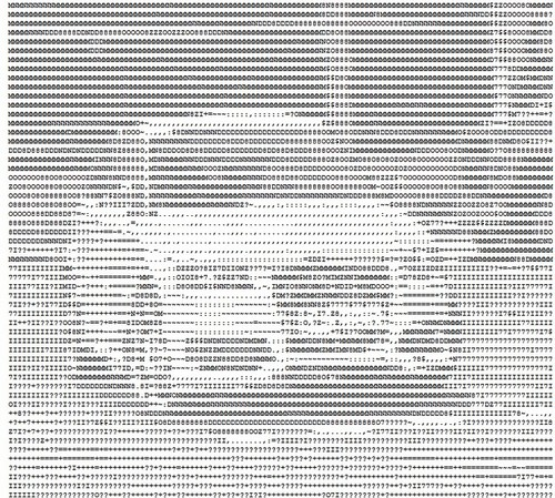 ASCII Art Vehicle