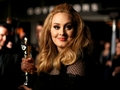 Adele with the Oscar - adele wallpaper