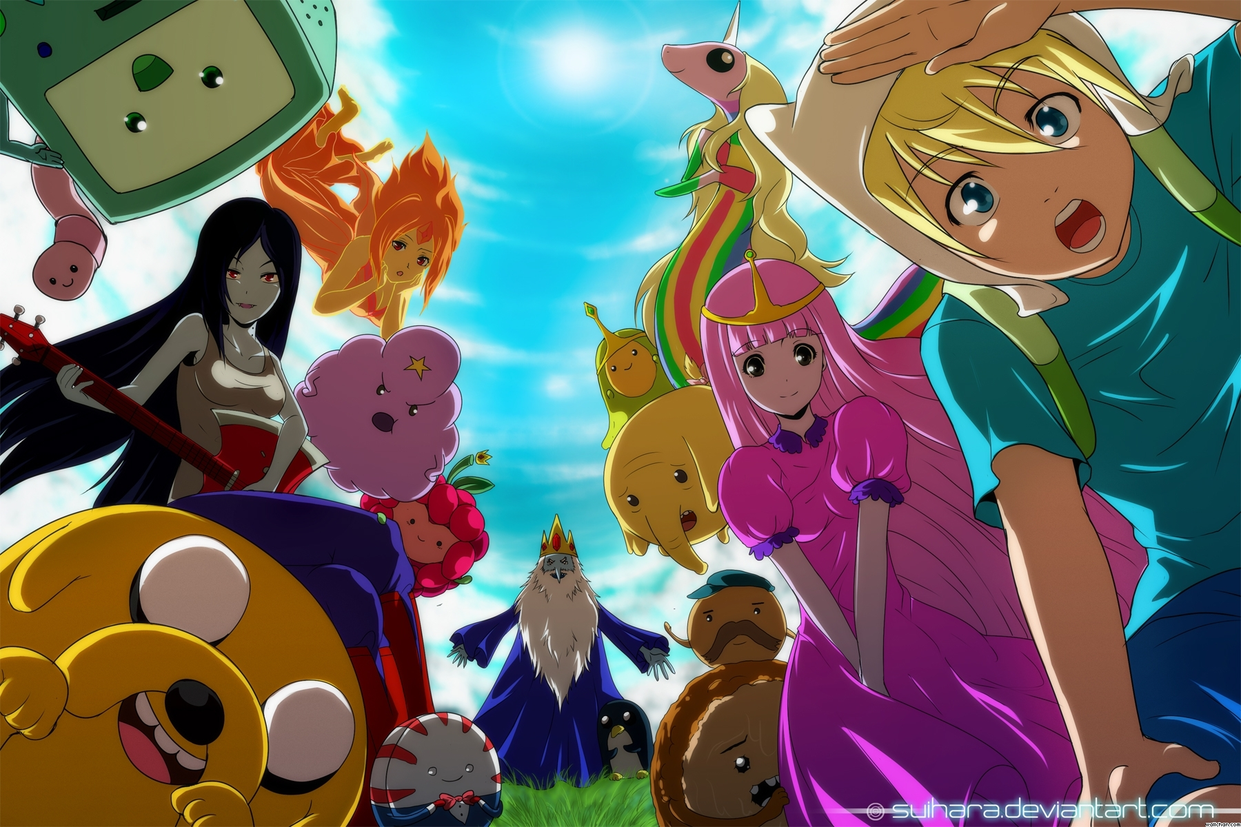 Adventure Time With Finn And Jake Adventure Time Anime