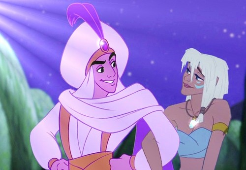 aladdin and Kida