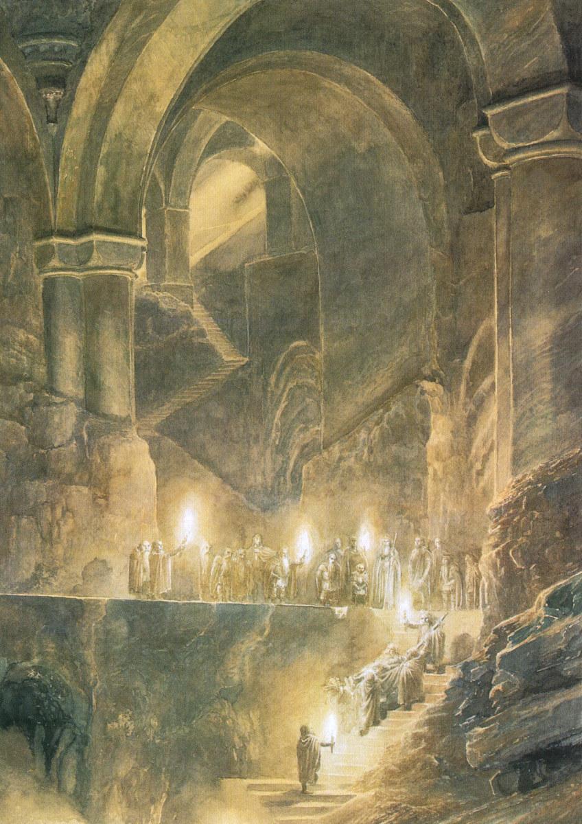 Alan Lee S Illustration J R R Tolkien Photo 34057110