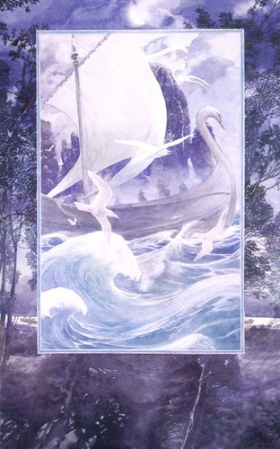 J.R.R. Tolkien wallpaper probably containing a sign and a pacific sardine entitled Alan Lee`s illustration