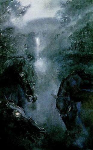 J.R.R. Tolkien wallpaper entitled Alan Lee`s illustration