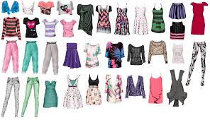 All kinds of spring clothes!