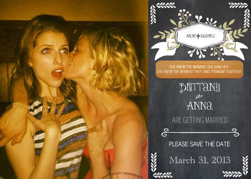 Anna Kendrick and Brittany Snow