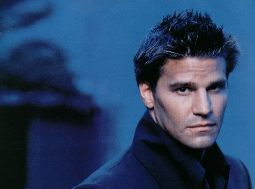 David Boreanaz wallpaper probably with a portrait titled Angel/Angelus/Liam