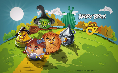 Angry Birds: the Wizard of Oz