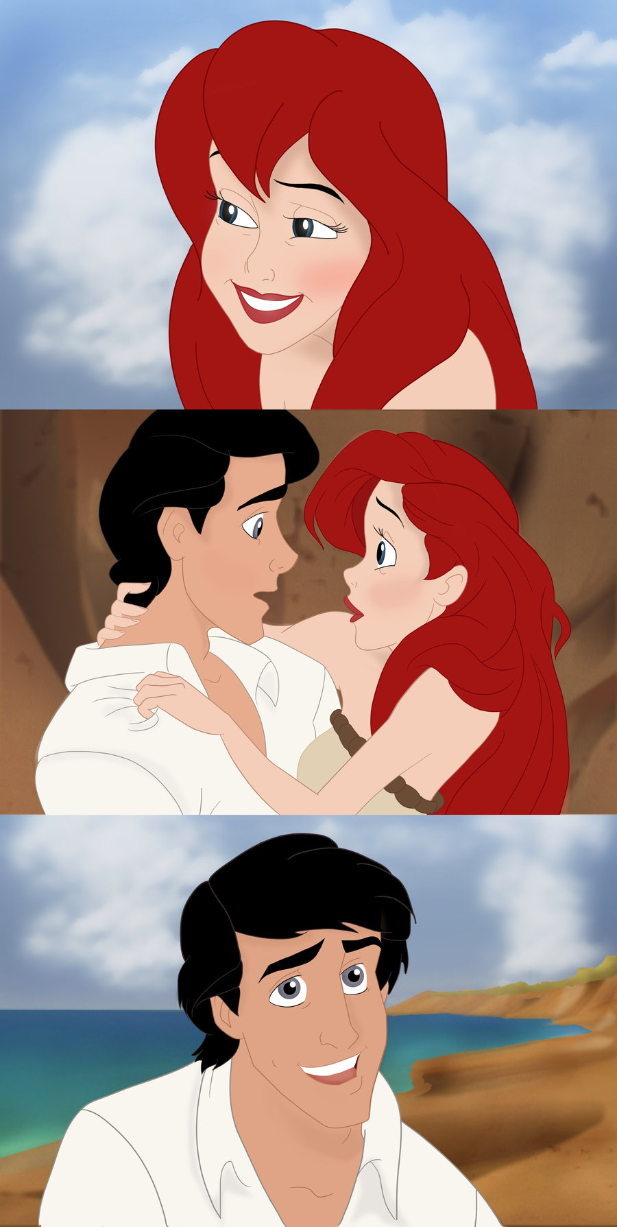 The Little Mermaid Images Ariel And Eric Hd Wallpaper And