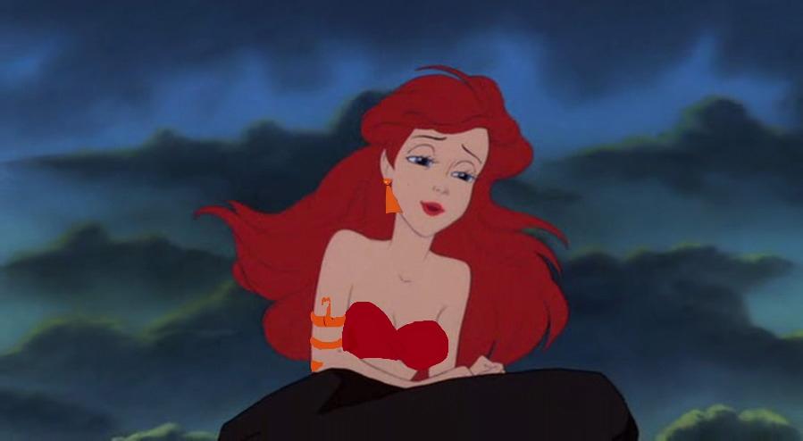 Ariel as dark jasmine