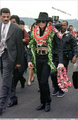 Arriving In Honolulu, Hawaii Back In 1997 - michael-jackson photo