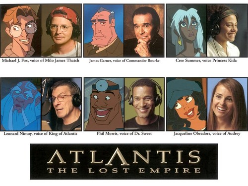 Atlantis The Lost Empire Voice Cast