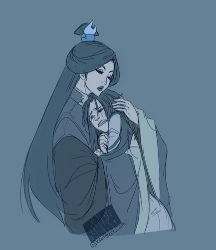 Avatar The Last Airbender kertas dinding with Anime entitled Azula and Ursa ♥