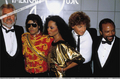 Backstage At The 1984 American musique Awards