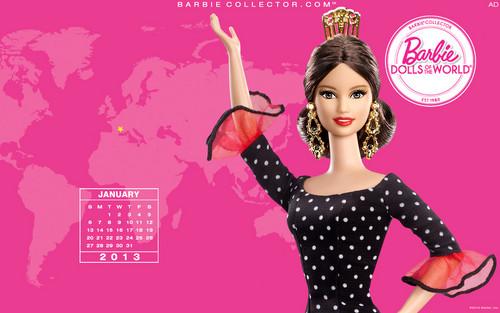 búp bê barbie Collector