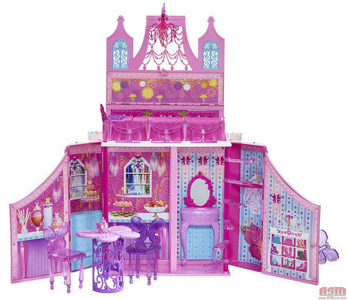 芭比娃娃 Mariposa and the Fairy Princes doll house