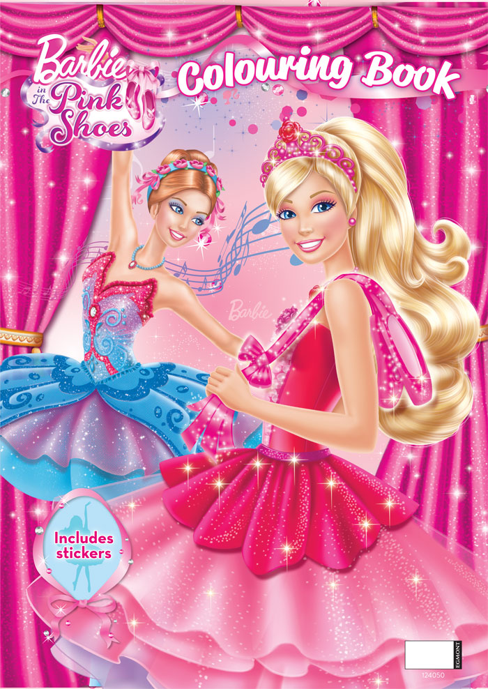 Barbie In The Pink Shoes Colouring Book