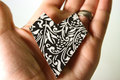 Black & White Brooches - jewelry photo