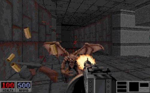 Blood (DOS game) screenshot