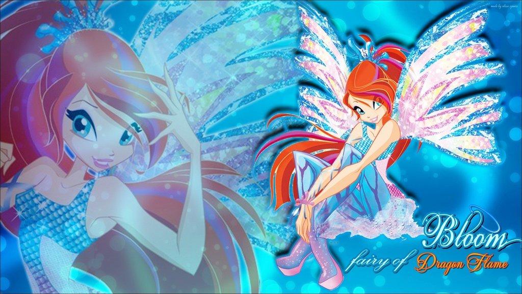 Bloom Sirenix ~ Wallpaper.