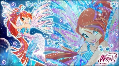Bloom Sirenix ~ Wallpaper.