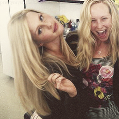 Candice Accol & Claire Holt