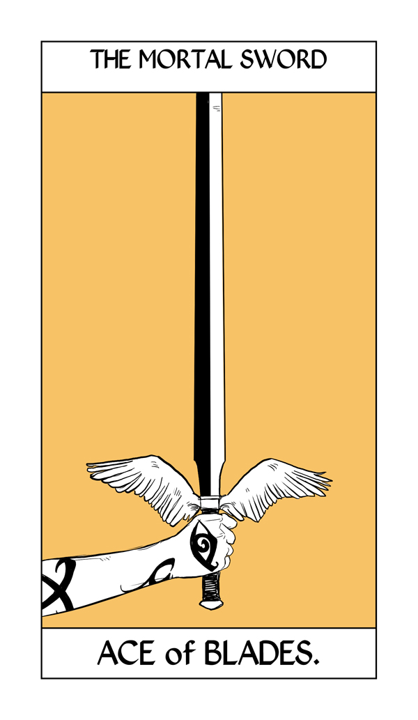 Cassandra Jean's Tarot Cards: The Mortal Sword {Ace of ...