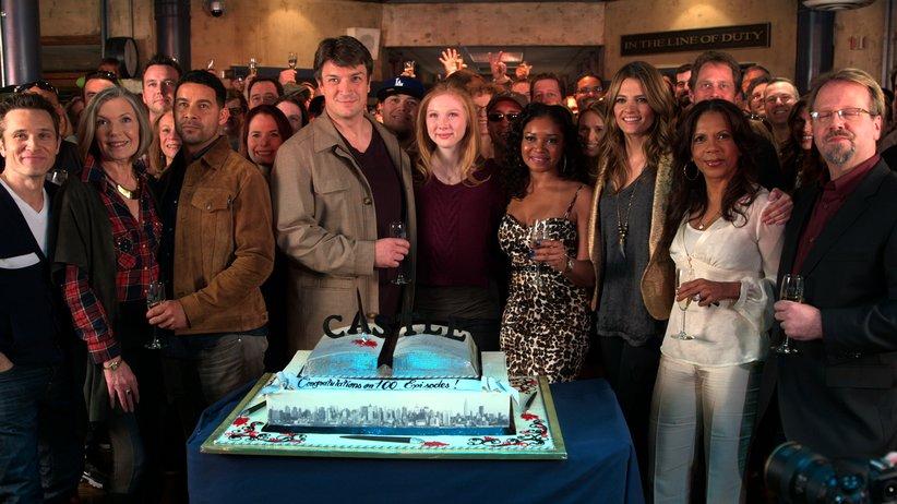 Castle 100th Episode Party