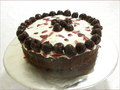 Cherry Chocolate Mud Cake - chocolate photo