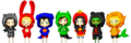 Chibi JL - young-justice photo
