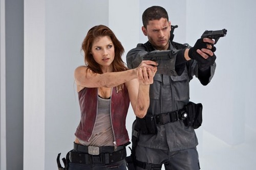 Chris and Claire Redfield