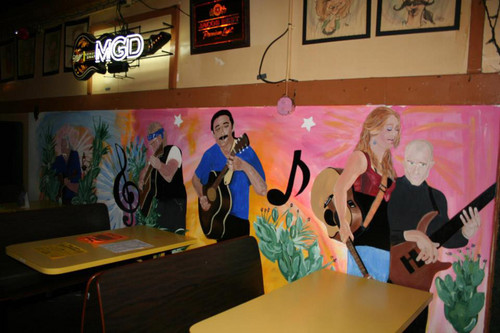 Crystal Bowersox & Frank May Mural