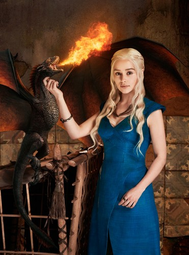 Daenerys Targaryen wallpaper containing a fire entitled Daenerys Targaryen