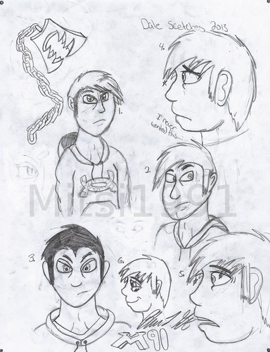 Dale sketches