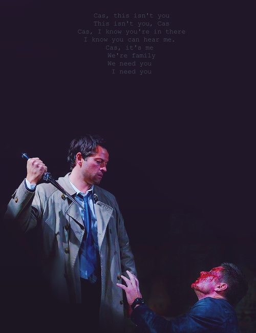 58 best SPN Quotes images on Pinterest   Winchester boys ...   Cass Quotes Spn