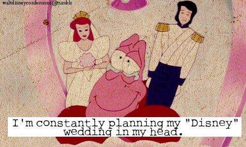 Disney Wedding Confession