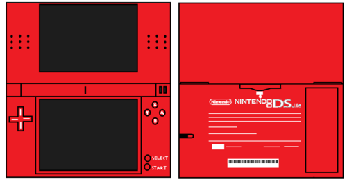 Ds Lite Red