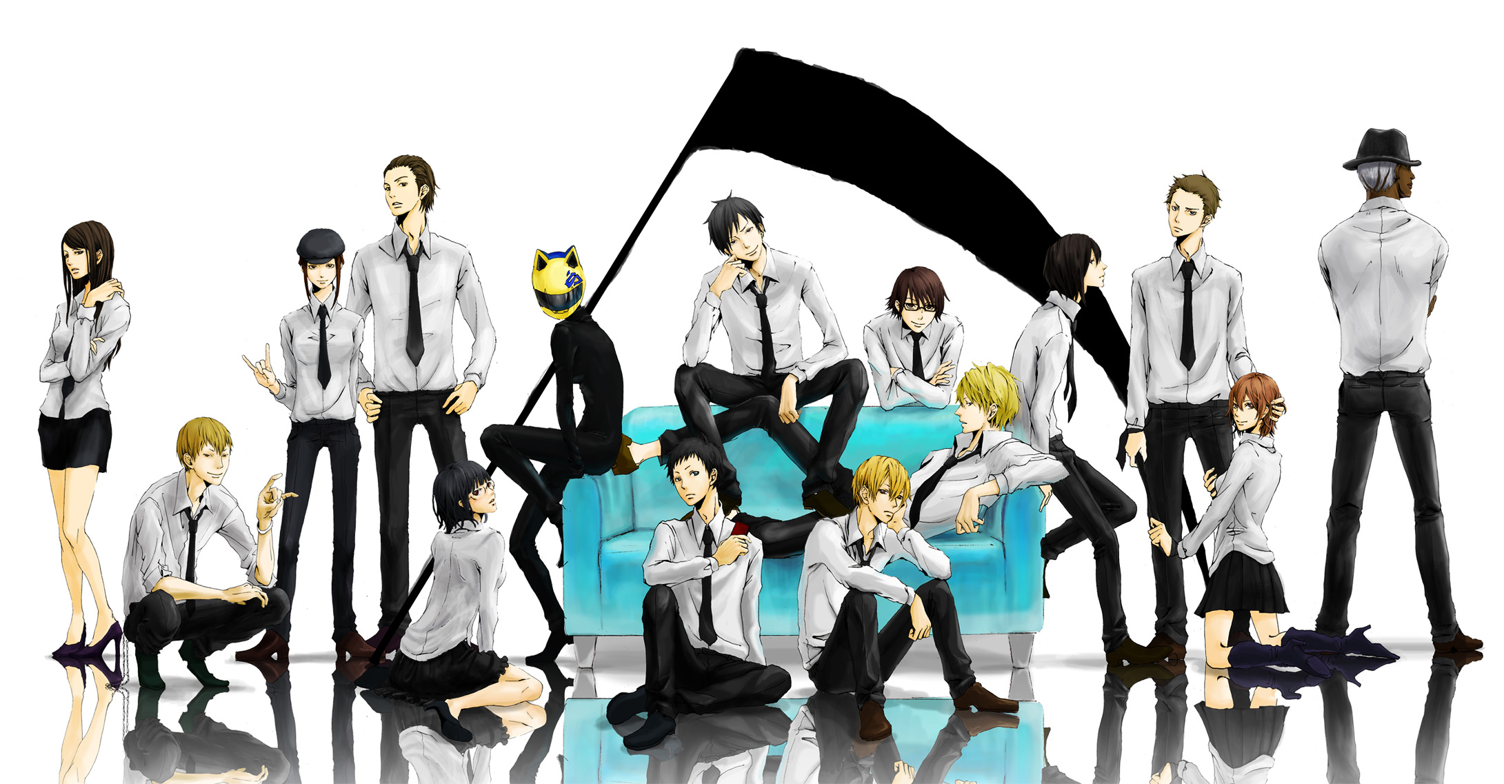 durarara wallpaper related keywords suggestions
