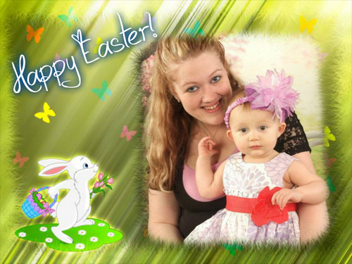 Easter- Beth and Aria