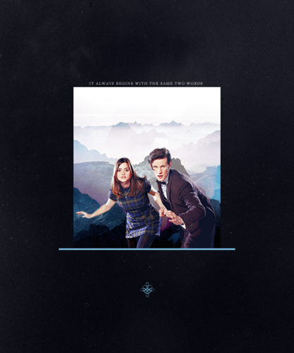 Doctor Who wallpaper titled Eleven/Clara Fanart!